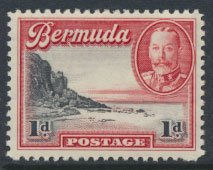 Bermuda  SG 99 SC# 106 MLH  see details and scan