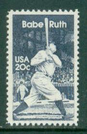 2046 20c Babe Ruth MNH Sht/50 LR 3 Sht2832