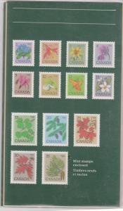 Canada Thematic Collection USC TC#19 1982 Wildflowers & Trees