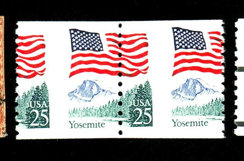 U.S. #2280 mint misperfed pair