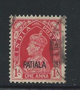 India Patiala Scott #101 Used