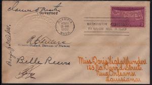 1939 Washington Statehood Sc 858 signed notables to Wunder