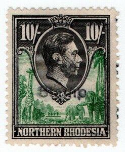 (I.B) Northern Rhodesia Revenue : Passport (Consular) Fee 10/-