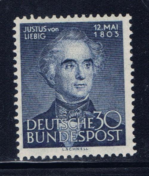 Germany 695 Hinged 1953 issue