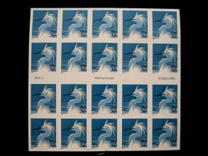US - SCOTT# 3830De - BOOKLET PANE 20 - MNH - CAT VAL $110.00 (_4)