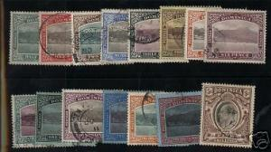 Dominica #35 - #49 VF Used Set Of 15