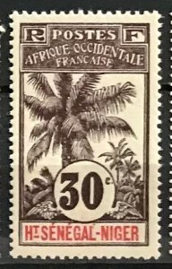 Upper Senegal & Niger #9 MH CV$7.00 Oil Palms