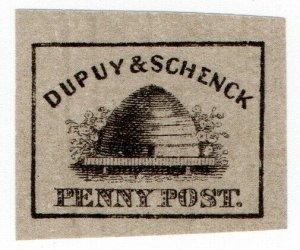 (I.B) US Local Post : Dupuy & Schenck