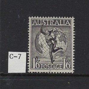 AUSTRALIA SCOTT #C7 1956 AIR MAIL - MINT NEVER HINGED