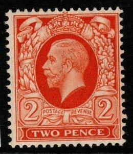 GB SGN54 1935 2d ORANGE INTERMEDIATE FORMAT MNH