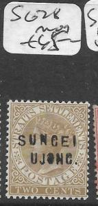 MALAYA SUNGEI UJONG (P0501B) QV 2C  SG 28  MOG