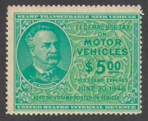 Doyle's_Stamps: MNH 1945 Motor Vehicle Revenue, Scott #RV42**