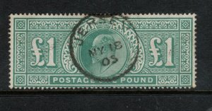 Great Britain #142 Used Fine With Ideal Jersey Cancel