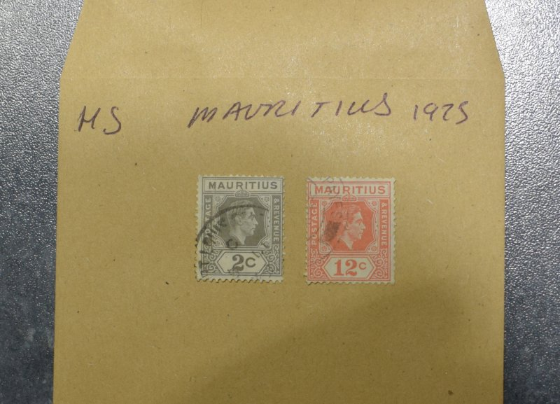 MAURITIUS  Stamps  King Edward VI  1938     ~~L@@K~~