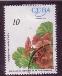 Cuba Sc. # 2140 CTO Flowers