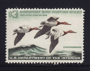 RW32 VF-XF original gum never hinged with nice color cv $ 100 ! see pic !