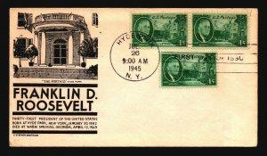 US SC# 930 FDC / Anderson Balck Cachet - Z18524