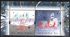 Moldova. 2019. 1127-28. Christmas. MNH.