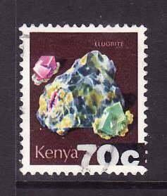 Kenya-Sc#242- id3-used set-Minerals-1982-