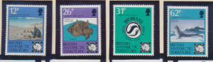 British Antarctic Territory (B.A.T.) Stamps Scott #180 To 183, Mint Never Hin...