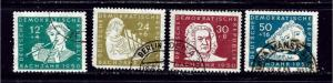 Germany (DDR) B17-20 Used 1950 Bach Year