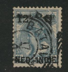 Netherlands Indies  Scott 32 used 1900 Surcharged