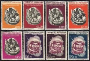 Paraguay 744-751,751a,MNH.Michel 1176-1183,Bl.36.Walter M.Schirra,Astronaut,1963