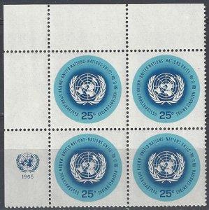 United Nations 149 Third Printing MNH MI4  UL