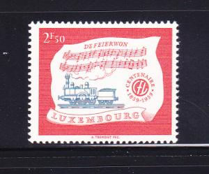 Luxembourg 356 Set MNH Trains, Locomotive (A)