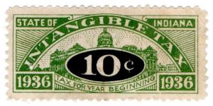 (I.B) US Revenue : Intangible Tax 10c (Indiana)