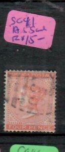 JAMAICA  (P2106BB) 1913   QV  4D   SG 11  A55  CANCEL   VFU