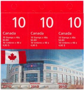 Canada - 2003 Vancouver 2010 Booklet of 30 #251Aa