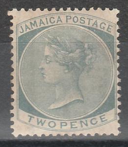 JAMAICA 1883 QV 2D WMK CROWN CA