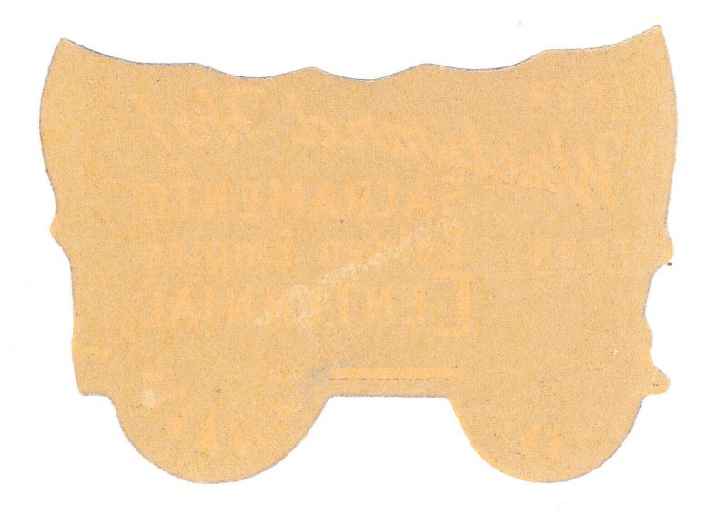 REKLAMEMARKE POSTER STAMP ⭐ SACRAMENTO GOLDEN CENTENNIAL COVERED WAGON ⭐ 1939