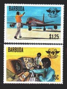 Antigua and Barbuda. 1979. 448-49 of the series. ICAO, aircraft. MNH.