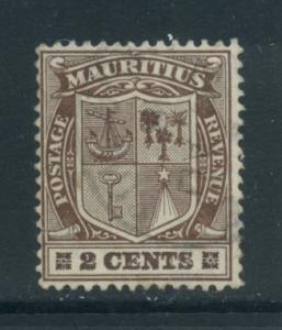Mauritius 138  Used (2)