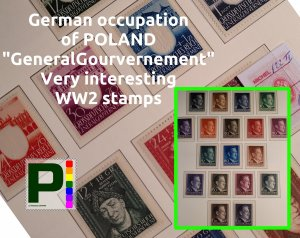 German Occupation of POLAND | Generalgouvernement | FREE shipping