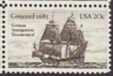US Stamp #2040 MNH - US and Germany Relations Single