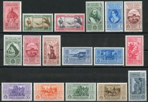 ITALY SCOTT#280/89,C35/39,CE1/2 MINT NH SCOTT VALUE $620 SASSONE VALUE 725 EUROS