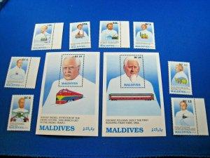 MALDIVES  -  SCOTT # 1362-1371           MNH