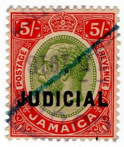 (I.B) Jamaica Revenue : Judicial 5/-