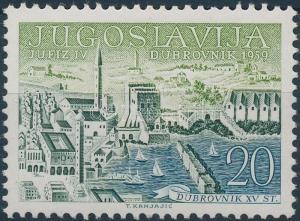 Yugoslavia stamp Stamp exhibition JUFIZ MNH 1959 Mi 881 WS135730