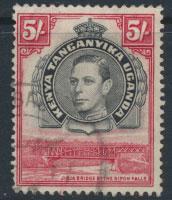 Kenya Tanganyika Uganda KUT SG 148b perf 13¼ x 13¾   - Used see details