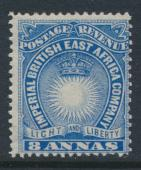 British East Africa Company  SG 12  SC#22  Mint Hinged - perf 14 -  see details
