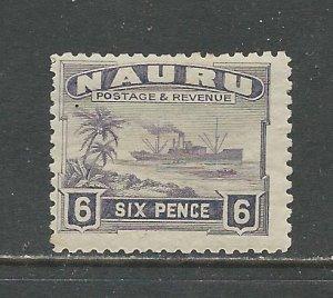 Nauru # 25 Unused HR