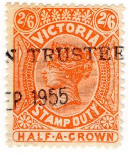 (I.B) Australia - Victoria Revenue : Stamp Duty 2/6d (1909)
