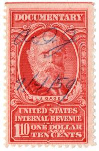 (I.B) US Revenue : Documentary $1 10c