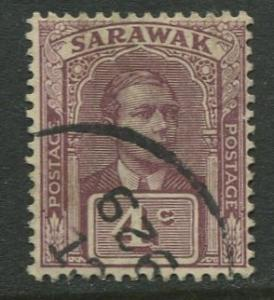Sarawak -Scott 56 - Sir Charles V.Brooke - 1918 - Used - Single 4c Stamp