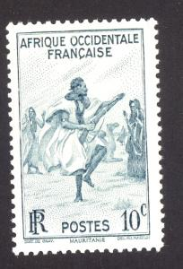 French West Africa 36 MHH