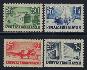 Finland Scott 215-218 Mint Never Hinged